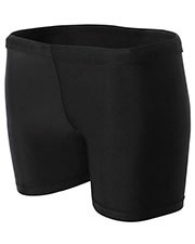 """A4 Drop Ship NW5313 Women 4"""" Inseam Compression Shorts at GotApparel"""