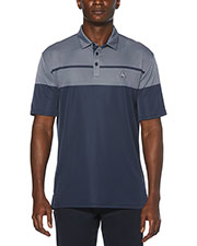 Original Penguin OGKSA035 Men Birdseye Color Block Polo at GotApparel