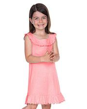 Little Girls 3-6X Ruffle Collar Tank Dress at GotApparel