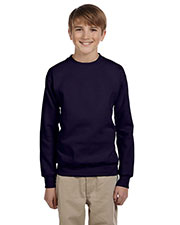 Hanes P360 Boys 7.8 Oz. Comfort Blend Eco Smart 50/50 Fleece Crew at GotApparel