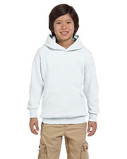 Hanes P473 Boys 7.8 Oz. Comfort Blend Eco Smart 50/50 Pullover Hood at GotApparel