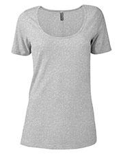 Platinum P504C Women Delta  Ladies Cvc Short Sleeve Scoop Neck Tee at GotApparel
