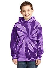 Port & Company PC146Y Boys Essential Tie-Dye Pullover Hooded Sweatshirt at GotApparel