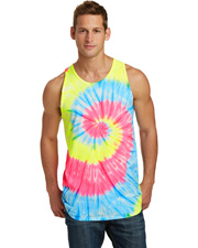 Port & Company PC147TT Mens   Tie-Dye Tank Top at GotApparel