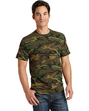 Port & Company PC54C Adult Core Cotton Camo Tee at GotApparel