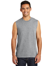 Port&Company PC54SL Men CoreCotton Sleeveless Tee at GotApparel