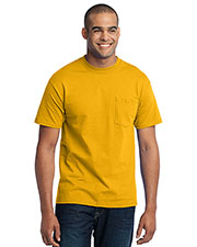 Port & Company PC55P Men 50/50 Cotton/Poly T-Shirt with Pocket at GotApparel