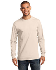 Port & Company PC61LST Men Tall Long-Sleeve Essential T-Shirt at GotApparel