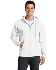 Port & Company PC78ZH Men Classic Full-Zip Hooded Sweatshirt at GotApparel