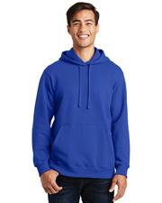 Port & Company PC850H Men   Fan Favorite Fleece Pullover Hooded Sweatshirt at GotApparel