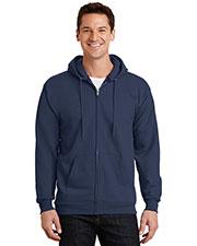 Port & Company PC90ZH Men Ultimate Full-Zip Hooded Sweatshirt at GotApparel