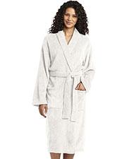 Port Authority R102 Women Plush Microfleece Shawl Collar Robe at GotApparel