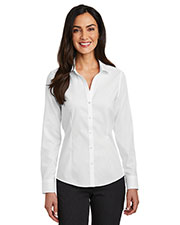 Red House RH250 Ladies 3.8 oz Pinpoint Oxford Non-Iron Shirt at GotApparel