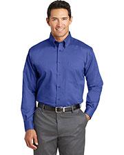 Red House TLRH37 Adult Tall Nailhead Non-Iron Button-Down Shirt at GotApparel
