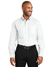 Red House RH60 Adult Dobby Non-Iron Button-Down Shirt at GotApparel