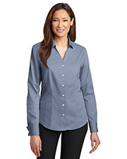 Red House RH63 Women French Cuff Non-Iron Pinpoint Oxford at GotApparel