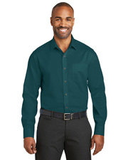 Red House RH80 Men Slim Fit Non-Iron Twill Shirt. at GotApparel