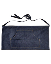 Artisan Collection by Reprime RP125 Unisex 8 oz Jeans Stitch Denim Waist Apron at GotApparel