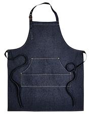 Artisan Collection by Reprime RP126 Unisex 8 oz Jeans Stitch Denim Bib Apron at GotApparel