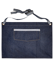 Artisan Collection by Reprime RP128 Unisex 8 oz Domain Contrast Denim Waist Apron at GotApparel