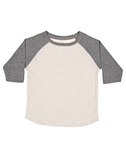 Rabbit Skins RS3330 Toddler 4.5 oz Baseball T-Shirt at GotApparel