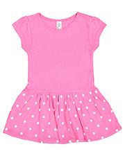 Rabbit Skins RS5320 Infant 5.0 oz Baby Rib Dress at GotApparel