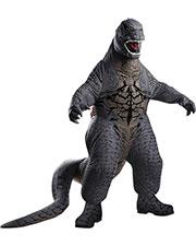 Halloween Costumes RU880856 Adult Godzilla Blowup at GotApparel