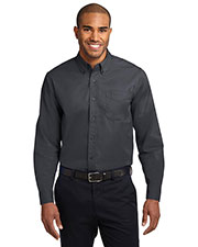 Port Authority  S608ES Men Extended Size Long-Sleeve Easy Care Shirt at GotApparel