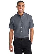 Port Authority S659 Men Short-Sleeve Superpro   Oxford Shirt at GotApparel