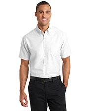 Port Authority S659 Men Short-Sleeve Superpro   Oxford Shirt at GotApparel