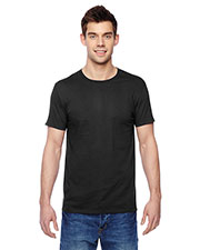 Fruit Of The Loom SF45R Men 4.7 Oz. 100% Sofspun Cotton Jersey Crew T-Shirt at GotApparel