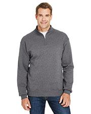 Fruit of the Loom SF95R Men 7.2 oz. Sofspun® Quarter-Zip Sweatshirt at GotApparel