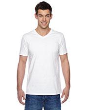 Fruit Of The Loom SFVR Unisex 4.7 Oz. 100% Sofspun Cotton Jersey V-Neck T-Shirt at GotApparel