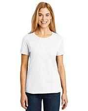 Hanes SL04 Women 4.5 oz Nano-T®Cotton T-Shirt at GotApparel