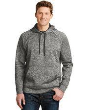 Sport-Tek® ST225 Men PosiCharge® & Electric Heather Fleece Hooded Pullover at GotApparel