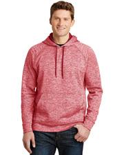 Sport-Tek® ST225 Men PosiCharge® & Electric Heather Fleece Hooded Pullover at GotApparel