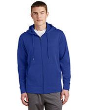 Sport-Tek® ST238 Adult Fleece Full-Zip Hooded Jacket at GotApparel