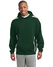 Sport-Tek® ST265 Men Sleeve Stripe Pullover Hooded Sweatshirt at GotApparel