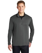 Sport-Tek® ST357 Men PosiCharge® Competitor™ 1/4-Zip Pullover  Competitor™ at GotApparel