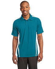 Sport-Tek® ST685 Men PosiCharge® Micromesh Colorblock Polo at GotApparel