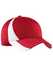 Sport-Tek® YSTC11 Boys Dry Zone Nylon Colorblock Cap at GotApparel