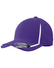 Sport-Tek® STC16 Men Flexfit Performance Colorblock Cap at GotApparel