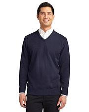 Port Authority SW300 Men Value V-Neck Sweater at GotApparel