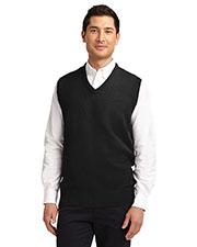 Port Authority SW301 Men Value V-Neck Sweater Vest at GotApparel