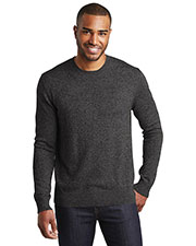 Port Authority SW417 Men Marled Crew Sweater at GotApparel