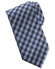 Edwards T007 Men Collegiate Plaid Tie at GotApparel