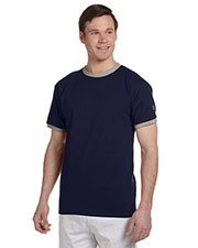 Custom Embroidered Champion T1396 Men 5.2 Oz. Ringer T-Shirt at GotApparel