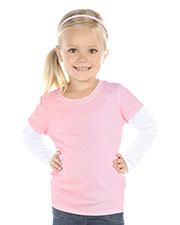 Toddlers Two-fer Long Sleeve Top at GotApparel