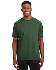 Sport-Tek® T473 Men Dry Zone Short-Sleeve Raglan T-Shirt at GotApparel