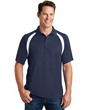 Sport-Tek® T476 Men Dry Zone Colorblock Raglan Polo at GotApparel